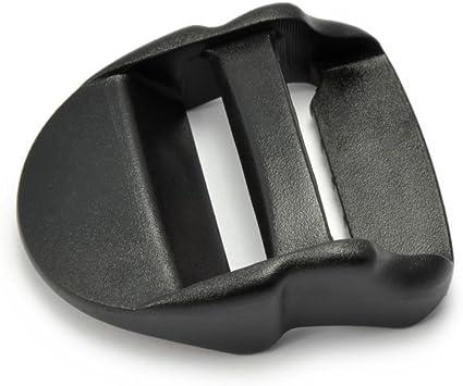 Gürtelschnalle Kunststoff in schwarz