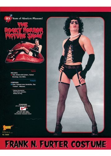 Mens Rocky Horror Frank N Furter Costume by Bristol Novelties