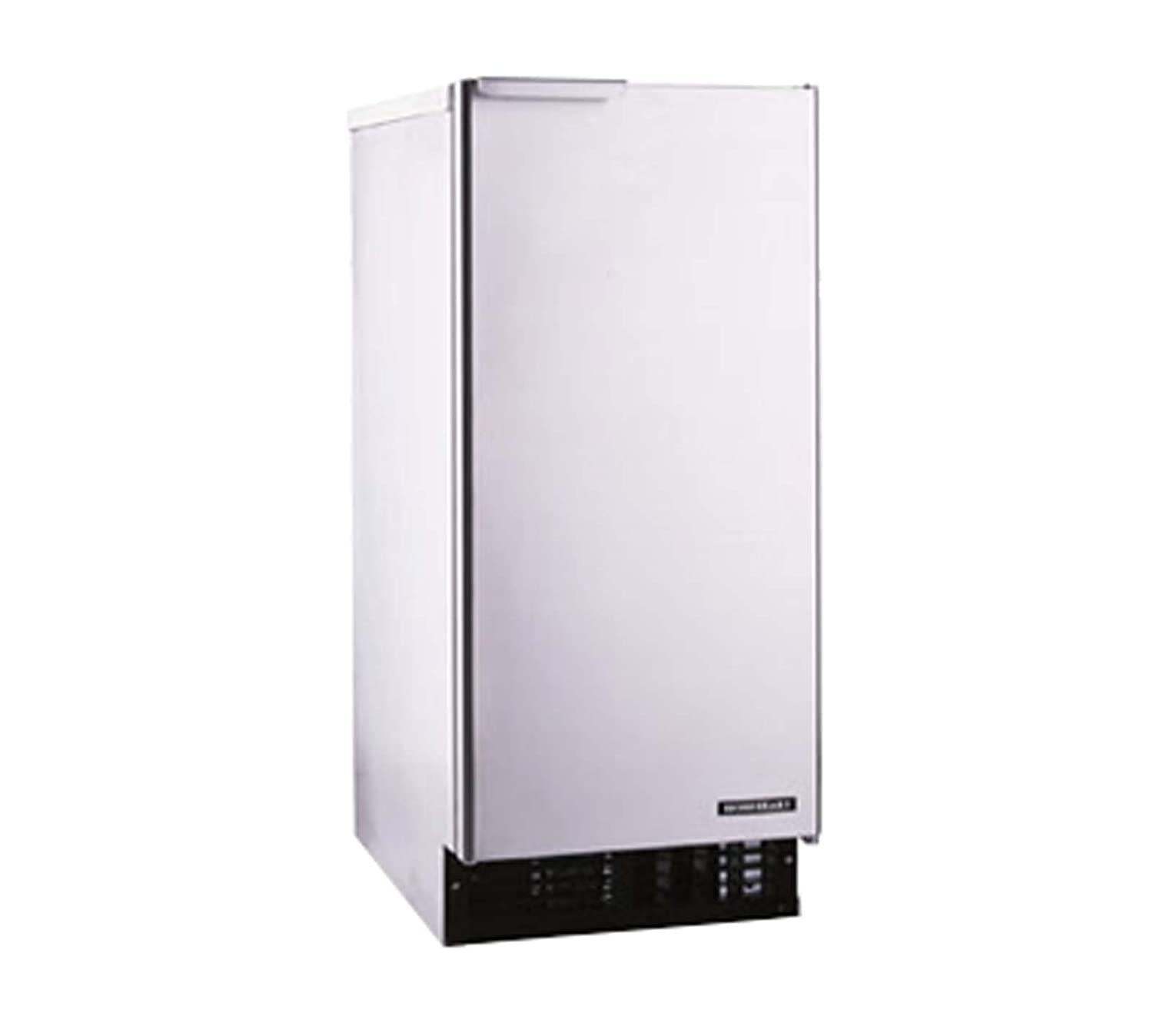 "C-101BAH-AD 15"""" ADA Compliant Undercounter Self-Contained Cubelet Ice Maker With 92 lbs. Daily Ice Production 20 lbs. Built-In Storage Capacity Reversible Door And Front Access: Stainless Steel"