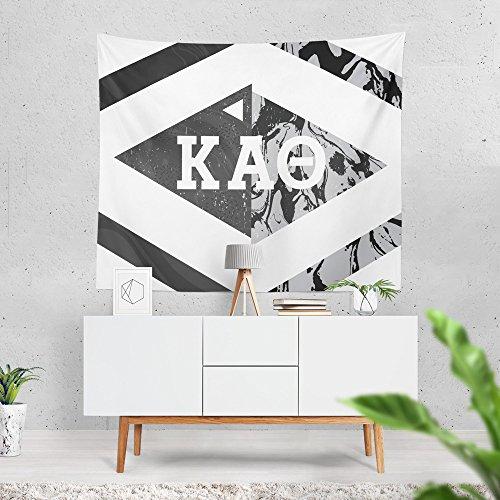 Kappa Alpha Theta Sorority Diamond Marble Dorm Apartment Wall Tapestry 60 Inches x 80 Inches Kappa Alpha Theta Merchandise