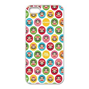 Polka Dot Design iPhone 5 5s Cell Phone Case White CUP