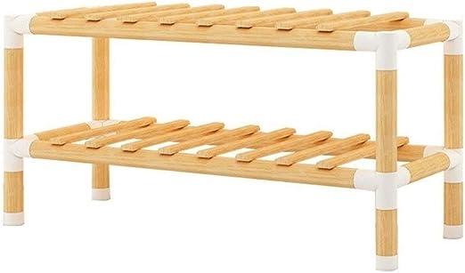 DJ Home Rack de Zapatos de 2-5 Niveles for el hogar Simple (Color de Registro) (tamaño : S): Amazon.es: Hogar