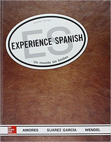 Amazon.com: Combo: Experience Spanish with Workbook Lab Manual ...