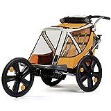Bellelli 20'Jogger W Travel Buggy Children's Children's Trailer Bicycle Trailer Stroller, Orange