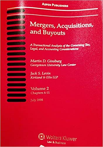 Mergers Acquisitions, and Buyouts, July 2008: Four Volume
