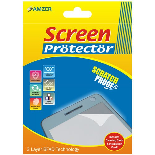 (Amzer Super Clear Screen Protector with Cleaning Cloth for BlackBerry 8800)