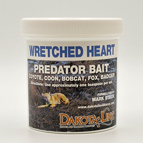 1 Pint WRETCHED HEART Predator Bait by DakotaLine