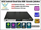 ACEUME AK2C50 Android Cloud ECHO HDD Karaoke Jukebox/Player with 6000G HDD Installed 111K songs preloaded Vietnamese+English+Mandarin+Cantonese