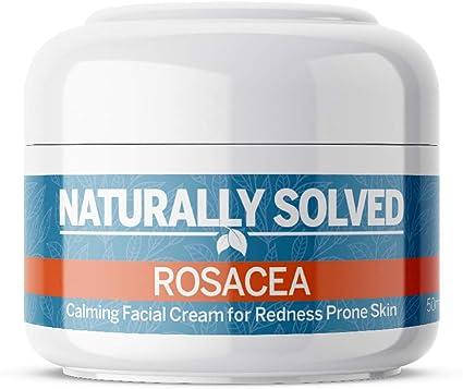 Naturally Solved Rosacea Anti Redness Day Cream Moisturiser For