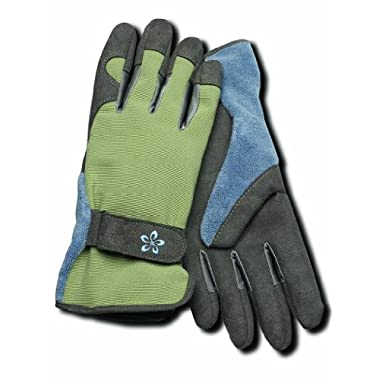 Magid Glove TE166T-M Terra Collection Deluxe Spandex Back Gardening Gloves - Womens Medium