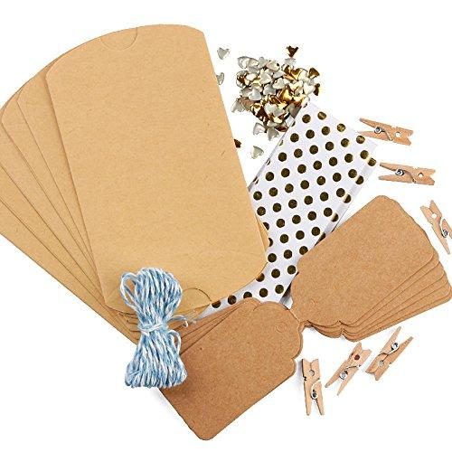 (Factory Direct Craft Polka Dot Pillow Gift Box Kit | Set of 6)