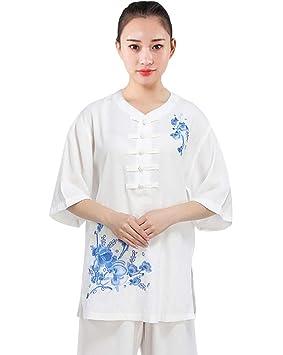 Mujer Ropa De Tai Chi Tang Traje de Artes Marciales Kung Fu ...