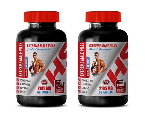 Men Sexual Performance Enhancement Pill - Extreme Male Pills - Male Enhancement - longjack eurycoma longifolia - 2 Bottles 120 Tablets by Healthy Supplements LLC