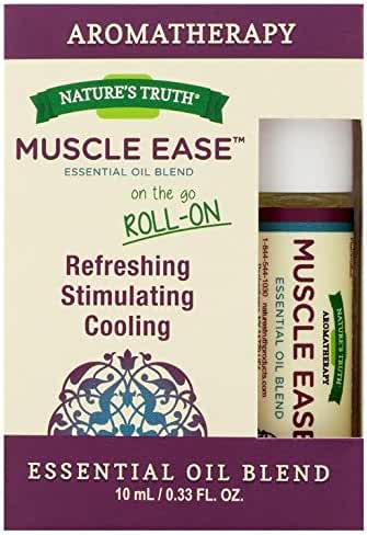 Nature's Truth Essential Oil Roll-On Blend, Muscle, 0.34 Fluid Ounce