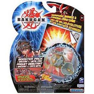 Bakugan Bakupearl B2 HAOS GREY HAMMER GOREM Bigger Brawlers Series Booster (Bigger Brawlers Booster Pack)