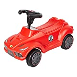 COLORTREE Push Car's Toddler Baby's Red Push Ride On Toy Car