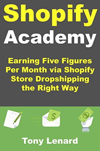 Shopify Academy Earning Five Figures Per Month Via Shopify Store Dropshipping The Right Way By