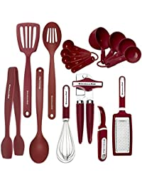 Want 17-piece KitchenAid Red Tool & Gadget Set compare