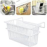 Iron Hanging Drainer Drying Sink Rack Basket Holder Kitchen Utensils Storage