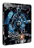 Ender's Game Rare UK HMV Blu-Ray Steelbook Edition With Graphics by Mondo Region B