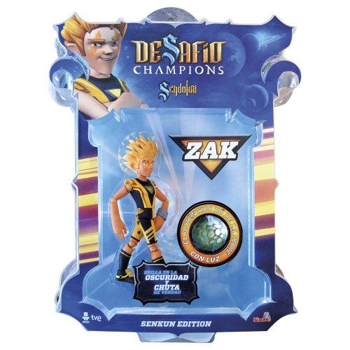 Desafío Champions Sendokai - Figura Zak (Simba 9410431)