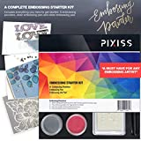 Embossing Kit with Heat Tool Bundle, Embossing
