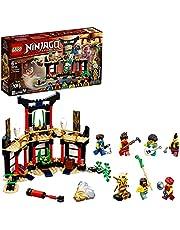 LEGO 71735 NINJAGO Elementturneringen Byggsats med Aktionfigurer, Samlingsbar, Barnleksaker