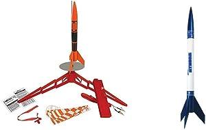 Estes Alpha III Rocket Launch Set & 2452 Athena Flying Model Rocket Kit