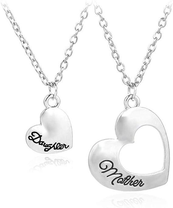 Qiiueen💦Colgantes Mujer, Corazón Y Alma, Collar Colgante De Amor, Grandes Regalos para Mujeres: Amazon.es: Juguetes y juegos