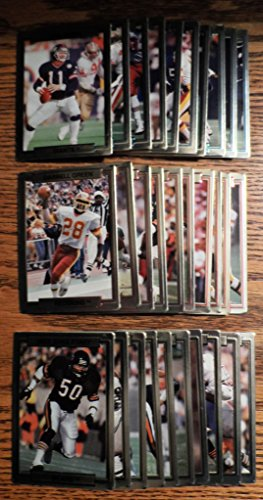 1989 Regional Test-Issue Action-Packed Football 30-Card Set.
