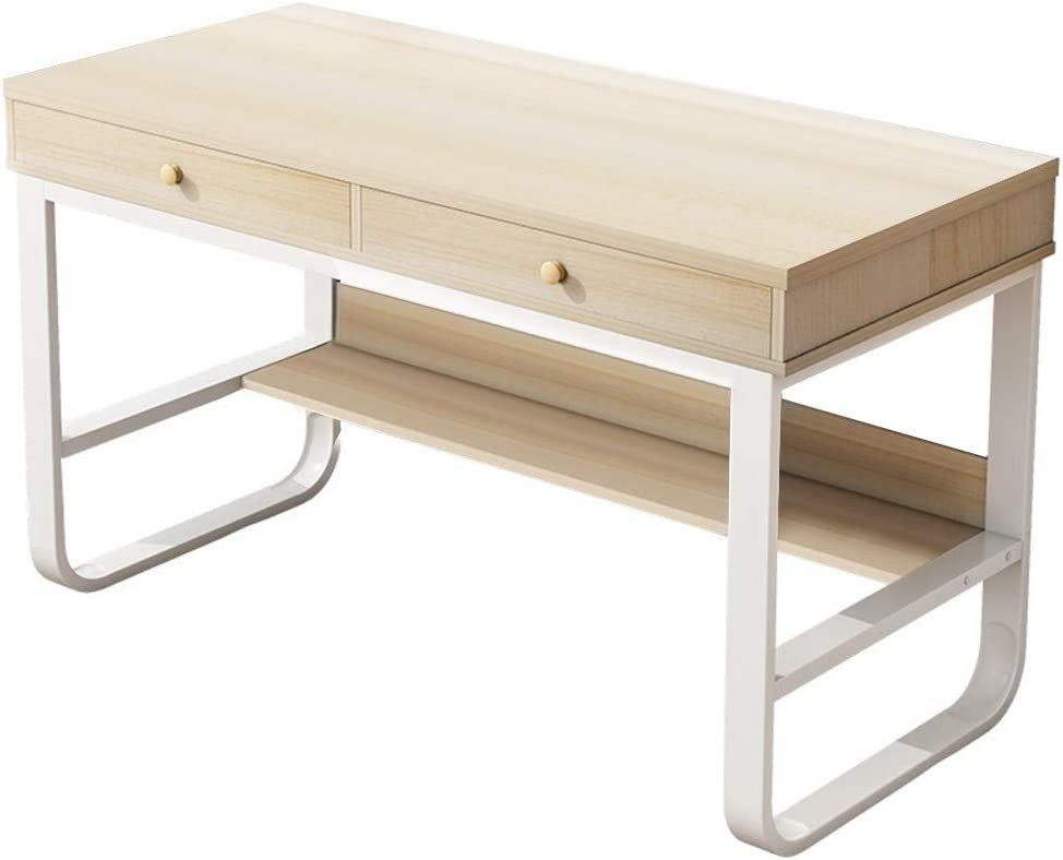 Computer Writing Desk, Floral Print Laptop Table Simple Folding Lazy Bedside Computer Table Simple Desktop Home Mobile Small Table Industrial Side Table Snack Table Slides Next to Sofa Couch