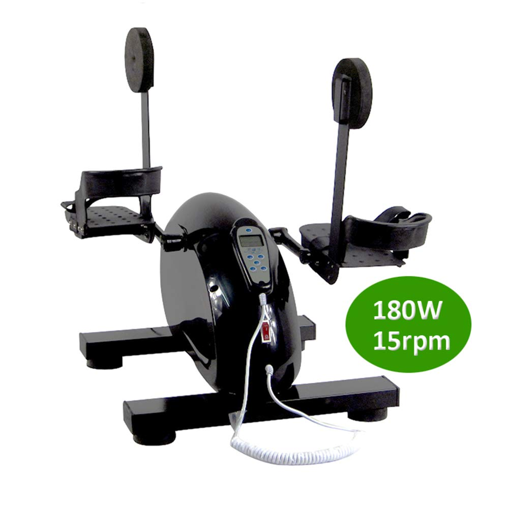 Electronic Physical Therapy Leg Hand Exercise Bike 180W Upper Lower Limbs Physiotherapy Rehabilitation Training Equipment Serious Brain Hemiplegia Cerebral Stroke Patients Health Recovery Pedal