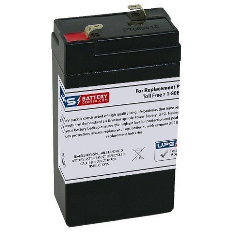 Critikon 8700X 6V 3.2Ah Replacement Battery with F1 Terminal ()