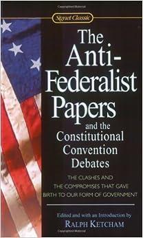 Anti federalist papers   wikipedia
