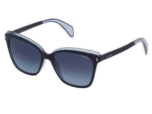 Police Gafas de sol - para mujer Azul turquesa 52: Amazon.es ...