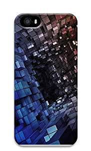 iPhone 5 5S Case The 3D Tunnel Space The Box 3D Custom iPhone 5 5S Case Cover