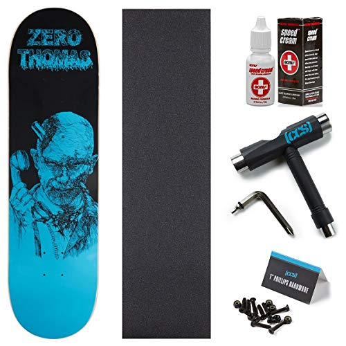 Zero Zombie Thomas Skateboard Deck - 8.25