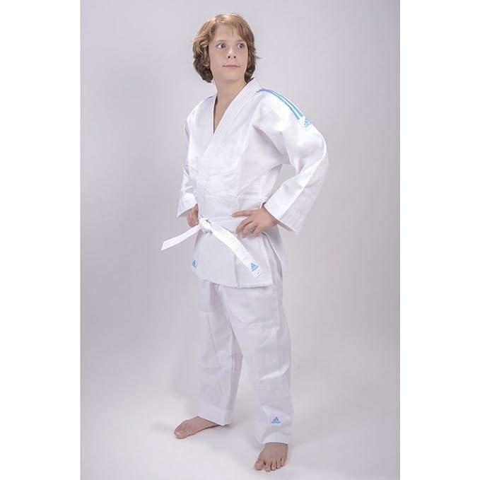 adidas Traje de judo para niños Evolution (incl. cinturón): Amazon ...