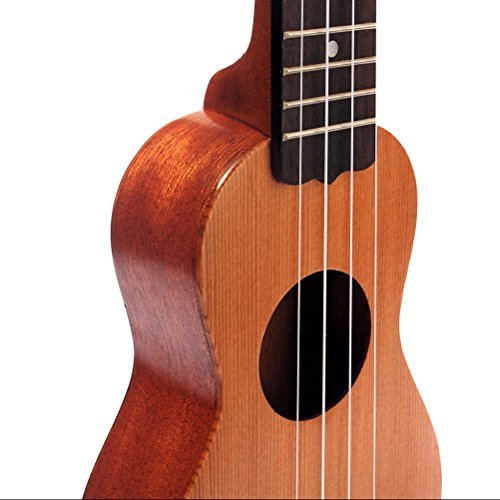 ULTNICE Mini Pocket Ukelele Top Rosewood Fretboard Stringed Instrument 4 (Rosewood Fretboard Music)