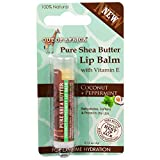 Shea Butter Lip Balm Coconut Peppermint Out Of Africa .15 oz Balm