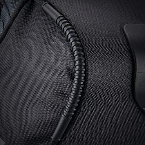 Samsonite Andante 2 Drop Bottom Wheeled Rolling Duffel Bag, Riverrock/Black, 22-Inch