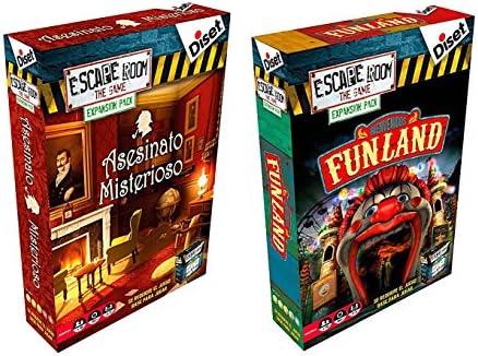 Pack 2 Expansiones para el juego Escape Room. Asesinato Misterioso ...