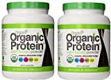 Orgain Organic Protein Plant-based Powder 2.03 Pound Chocolate Fudge (2 Pack))