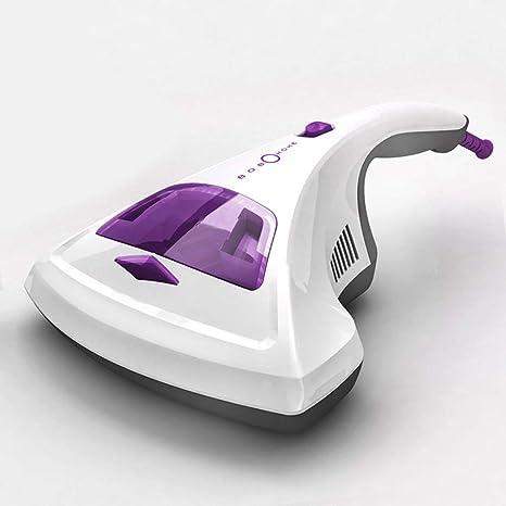 BEDLININGS Aspirador UV De Mano Anti-Dust Mites, con Filtración HEPA Y Succiones De
