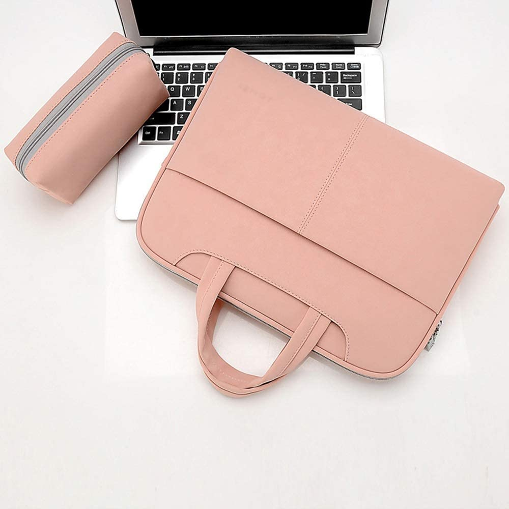 Lorachun Linen Computer Bag Shoulder Bag 15//15inch 5 Colors Can be Choose Color : Red, Size : 14inch
