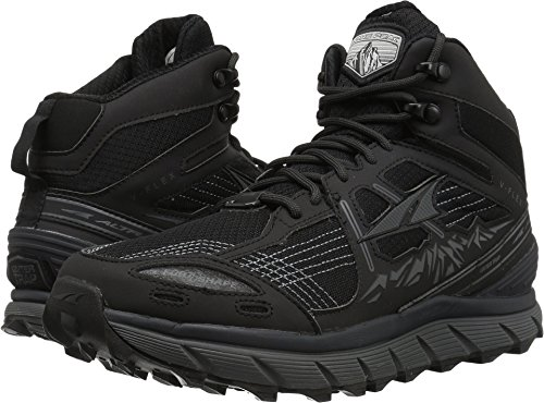 Altra Lone Peak 3.5 Mid Mesh Men's Trail Running Shoe, Black, 11.5