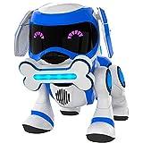 Tekno The Robotic Puppy, Blue