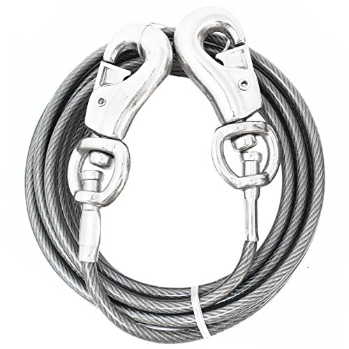Prestige Super-Beast Dog Tie-Out, 30-Feet