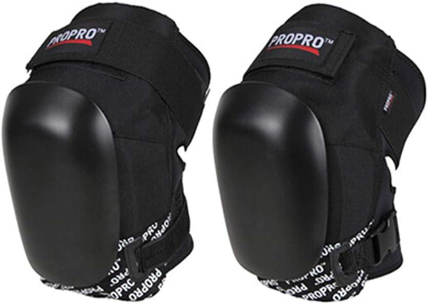 Abangdon 厚手のハードシェルとKneecapのU字型プール付き膝保護具 (サイズ : S)  Small