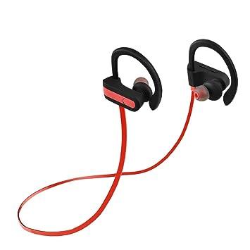 Fosa Auriculares Bluetooth 4,1 de Sonido Estéreo de Alta Calidad, Auriculares Inalámbricos con